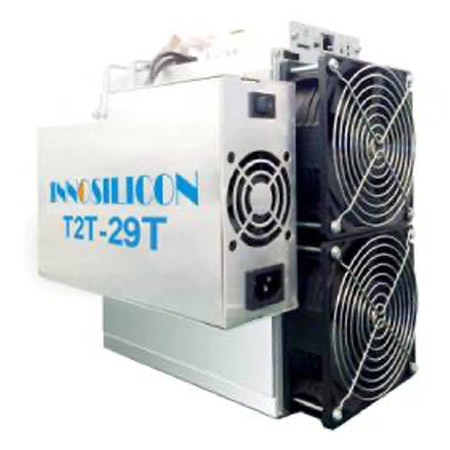 Innosilicon T2T (29Th) ASIC miner