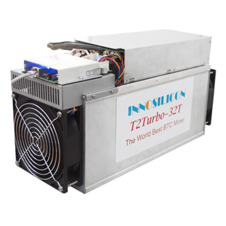 Innosilicon T2T (32Th) ASIC miner