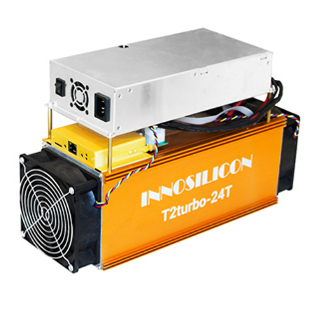 Innosilicon T2T (24Th) ASIC miner
