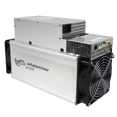 MicroBT M20S (72Th) ASIC miner