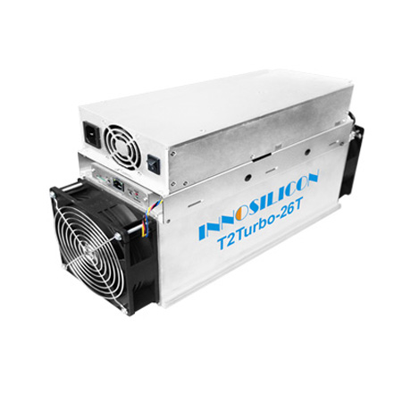 Innosilicon T2T (26Th) ASIC miner